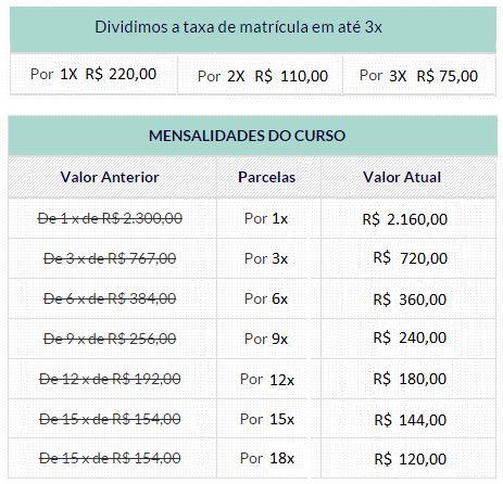 PROMOCAO NATAL - CURSOS 495 A 1000 HORAS